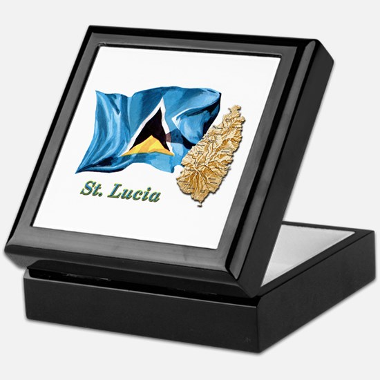 St. Lucia Keepsake Box