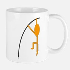 Orange Pole Vaulter Mug