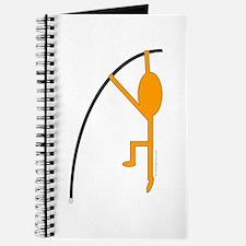 Orange Pole Vaulter Journal