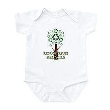 Recycle Tree Infant Bodysuit