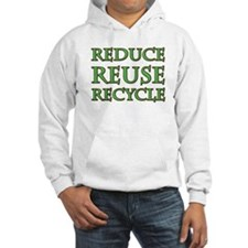 RRR Recycle Saying Hoodie