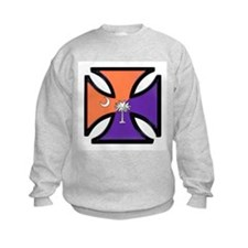 Clemson Iron Cross Sweatshirt
