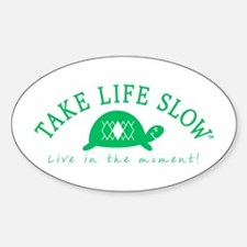 TLS Green Turtle, Oval Decal