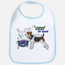 "Fox Terrier_""Wired"" Bib"