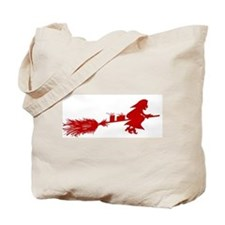 Yule Witch Tote Bag