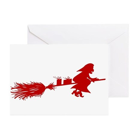 Yule Witch Greeting Cards (Pk of 10)