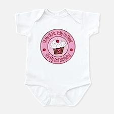 3rd Birthday Cupcake Infant Bodysuit