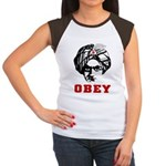 Obey Face Women's Cap Sleeve T-Shirt