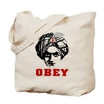 Obey Face Tote Bag