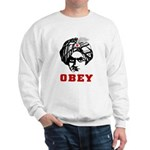 Obey Face Sweatshirt
