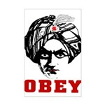 Obey Face Mini Poster Print