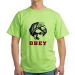 Obey Face Green T-Shirt