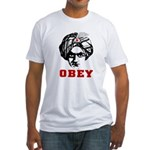 Obey Face Fitted T-Shirt