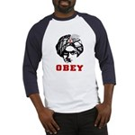 Obey Face Baseball Jersey