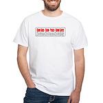 Know Guns White T-Shirt