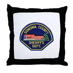 Sonoma Sheriff Throw Pillow