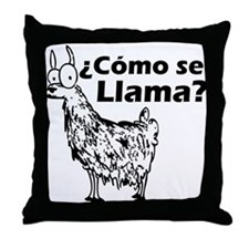 Como se Llama Throw Pillow