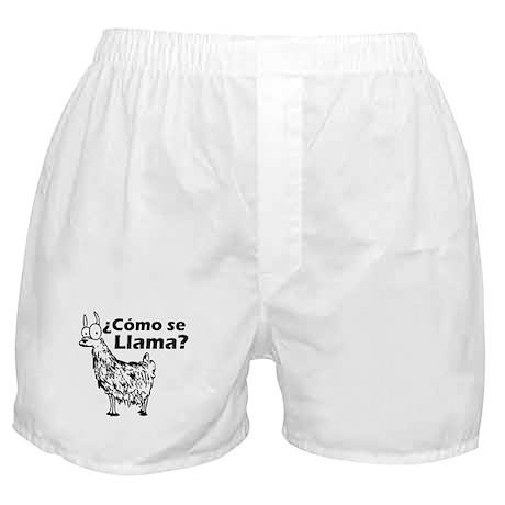Como se Llama Boxer Shorts