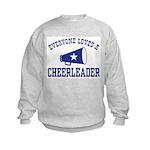 Everyone Loves a Cheerleader Kids Sweatshirt