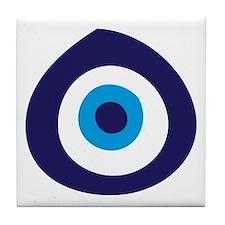 Evil Eye Tile Coaster