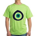 Evil Eye Green T-Shirt