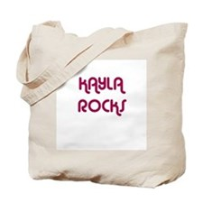 KAYLA ROCKS Tote Bag