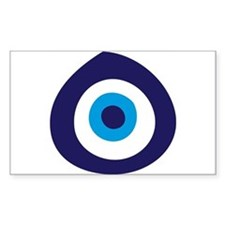 Evil Eye Rectangle Bumper Stickers