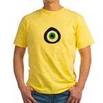 Evil Eye Yellow T-Shirt