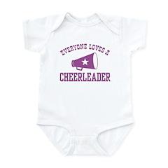 Everyone Loves a Cheerleader Infant Bodysuit