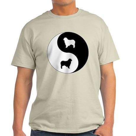 Yin Yang Aussie Shep Light T-Shirt
