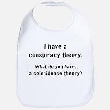 Conspiracy Theory Bib