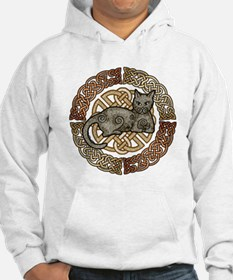 Celtic Cat Jumper Hoody