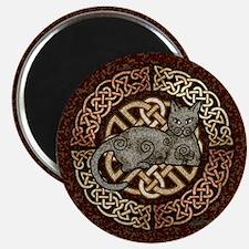 Celtic Cat Magnet