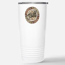 Celtic Cat Stainless Steel Travel Mug
