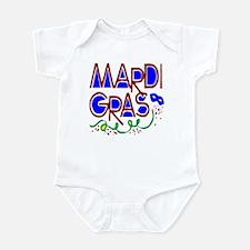Mardi Gras Logo Design for Ne Infant Bodysuit