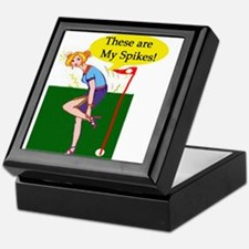 Spiked Golf Keepsake Box