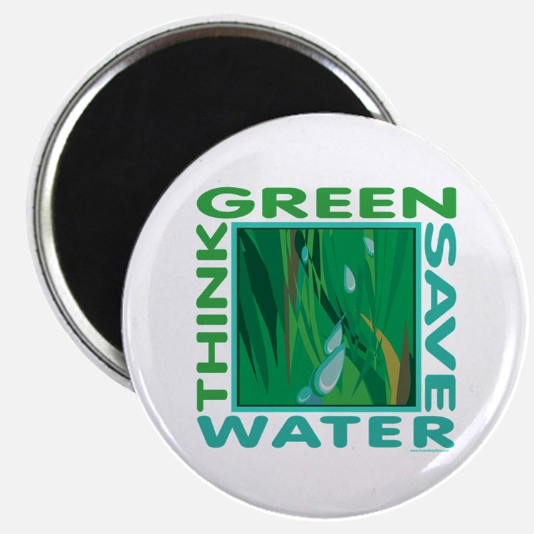 "Water Conservation 2.25"" Magnet (10 pack)"