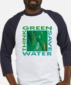 Water Conservation Baseball Jersey