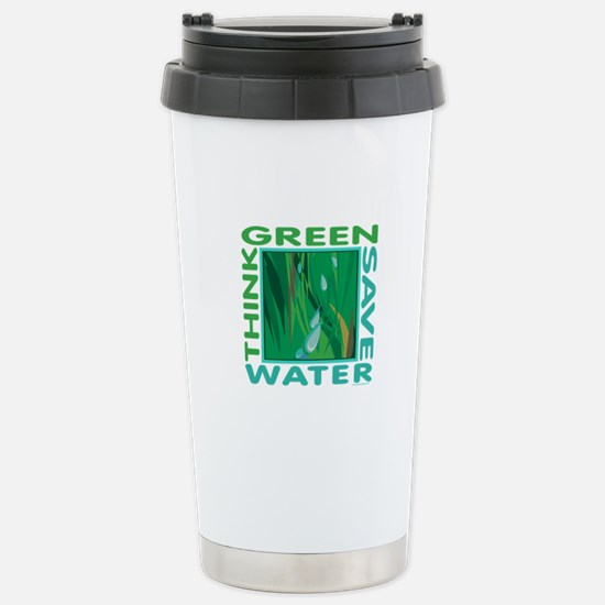 Water Conservation Stainless Steel Travel Mug