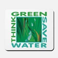Water Conservation Mousepad