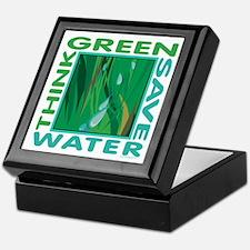 Water Conservation Keepsake Box