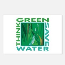 Water Conservation Postcards (Package of 8)