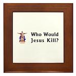 WWJK? Framed Tile