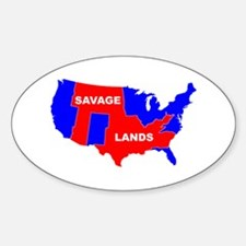 savagelands Oval Decal