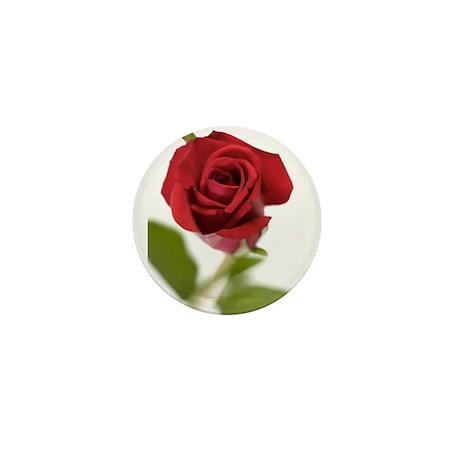 RED ROSE_9 Mini Button
