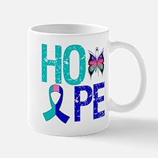 HopeButterfly ThyroidCancer Mug