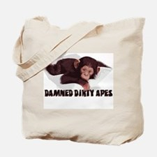 Damned Dirty Apes Tote Bag