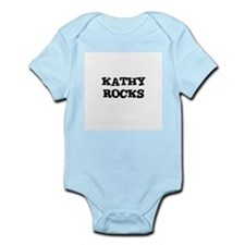 KATHY ROCKS Infant Creeper