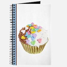 Cupcake Hearts Journal