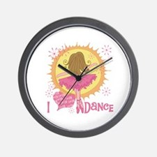I Love Dance Wall Clock